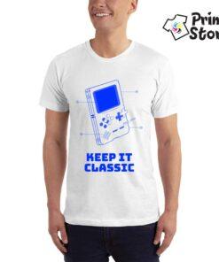 Keep it classic - muska gaiming majica - Print Store