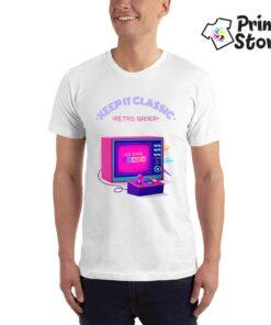 Retro Gamer - muška gejmerska majica - Print Store