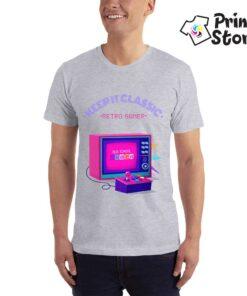 Keep it classic retro gamer - muška majica - gejmer