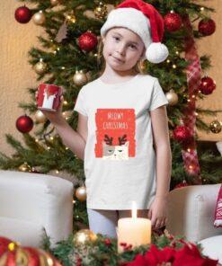 Meowy christmas dečije novogodišnje majice majice