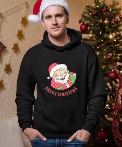 Merry Christmas deda muški novogodišnji duks