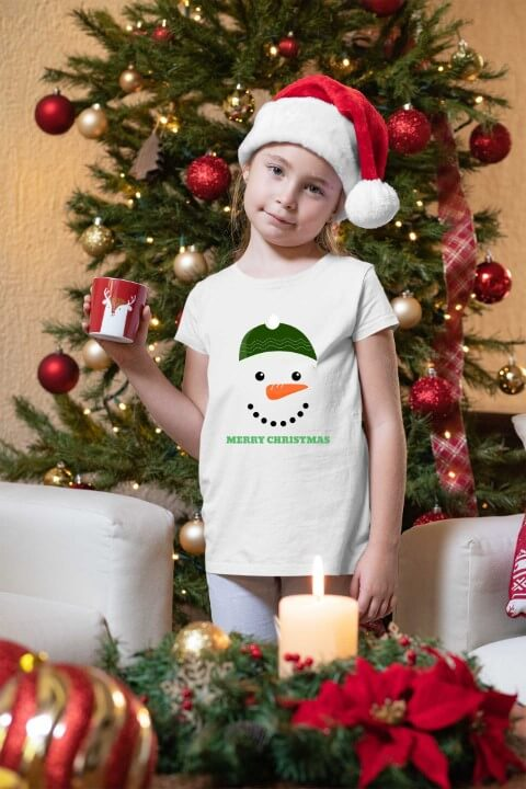 Majice za devojčice Merry Christmas. Print Store