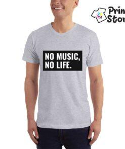 No music No life muške majice