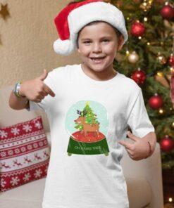 Majice za dečake Oh xmas tree