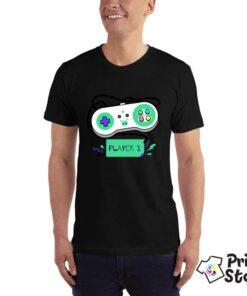 Player 1 Nintendo - crna majica