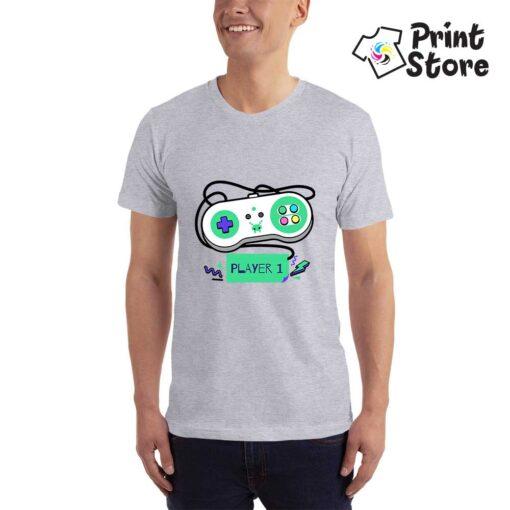 Player 1 Nintendo - siva majica