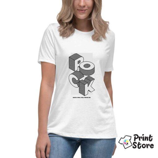 Rock roll majice u print store prodavnici.