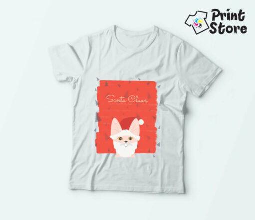 Snata Claus novogodišnje majice. Online prodavnica print store