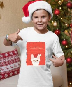 Dečak sa majicom Santa Claus. Print Store online prodavnica
