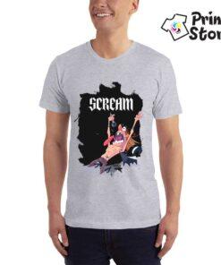 Scream - Muška siva majica