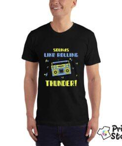 Sounds like rolling thunder - muške majice