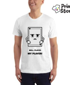 Well played my player - Print Store - bela majica