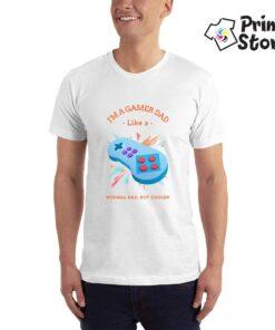I'm a gamer dad - gaming majice - Print Store shop