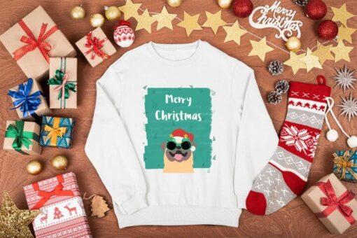 Merry Christmas pas beli duks. Super ponuda u online prodavnici Print Store.